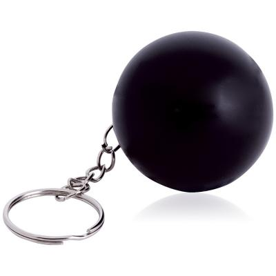 Image of Round Stress Ball Keyring